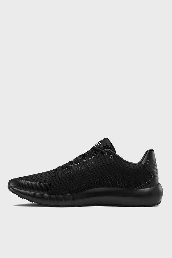 Мужские черные кроссовки UA Micro G Pursuit SE