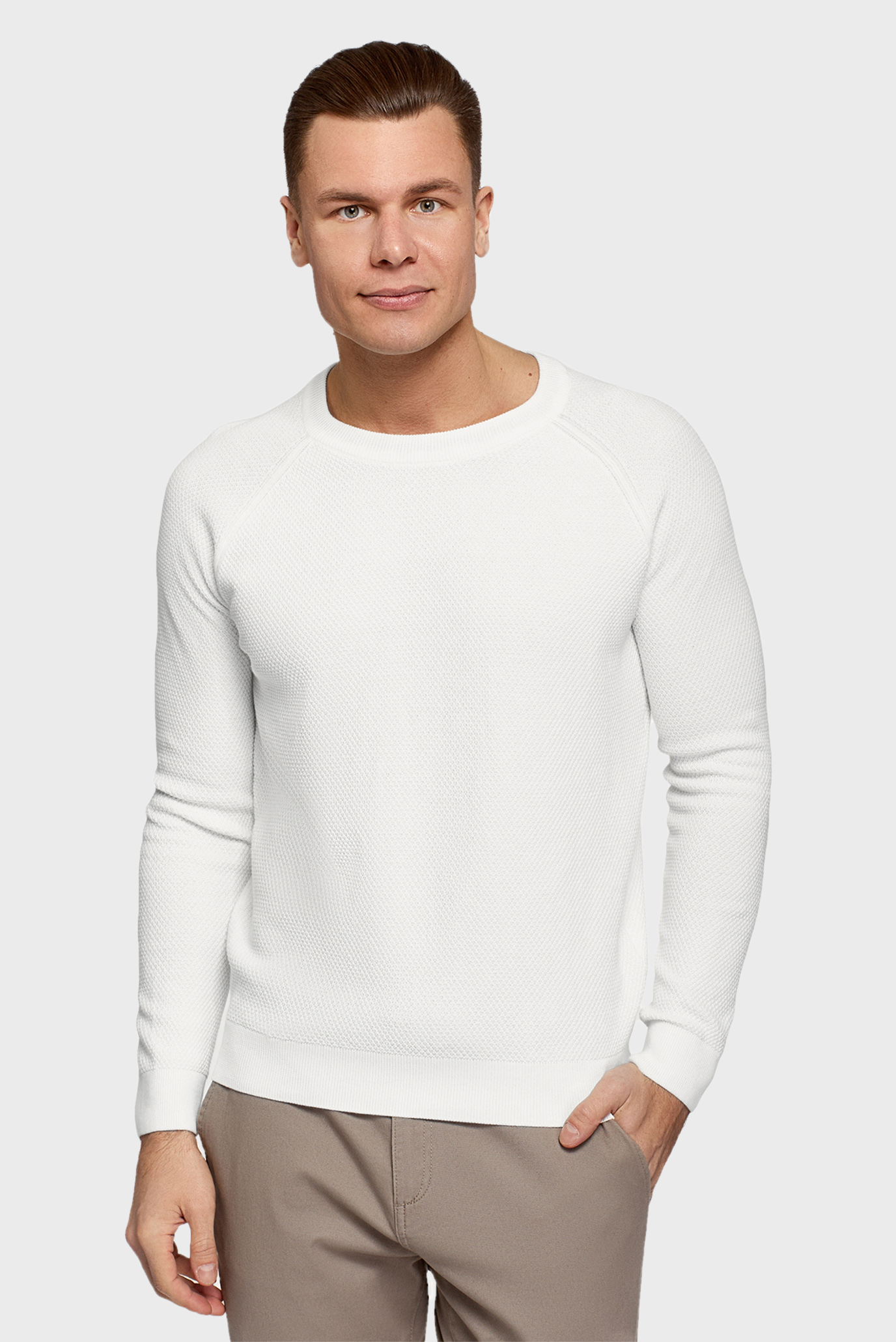 Мужской белый джемпер 1