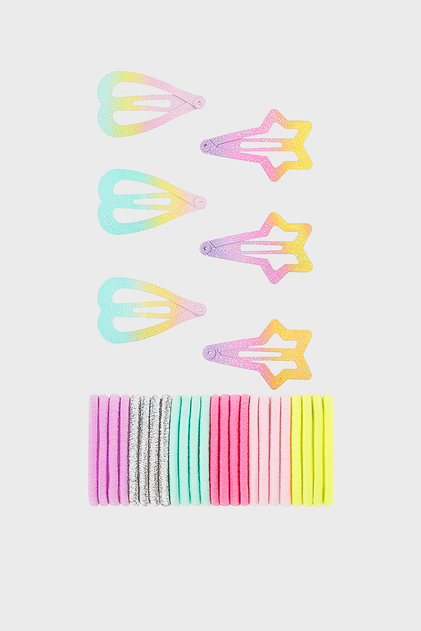 2dc94462758b Купить Детский набор аксессуаров для волос MULTI PACK HAIR CLIP ...