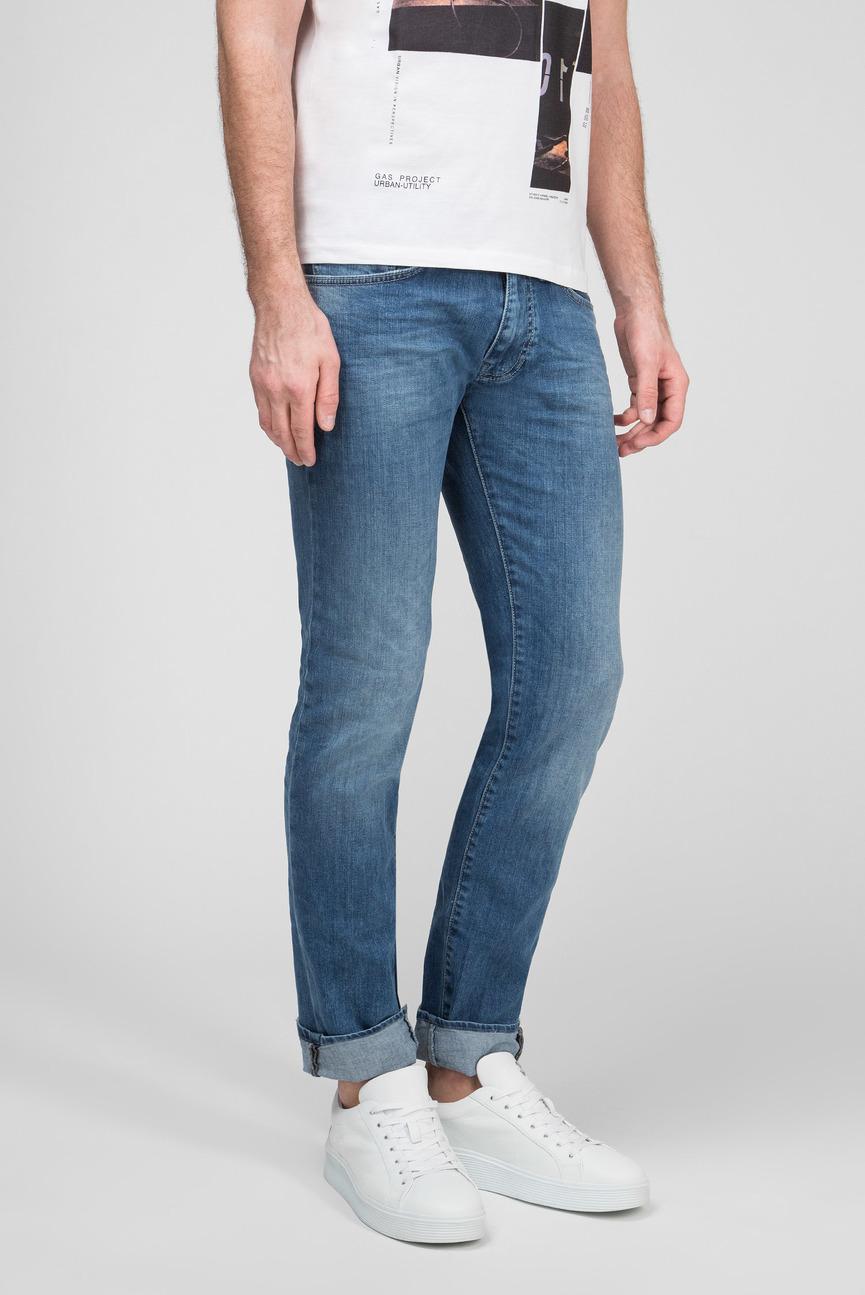 Мужские синие джинсы MORRIS