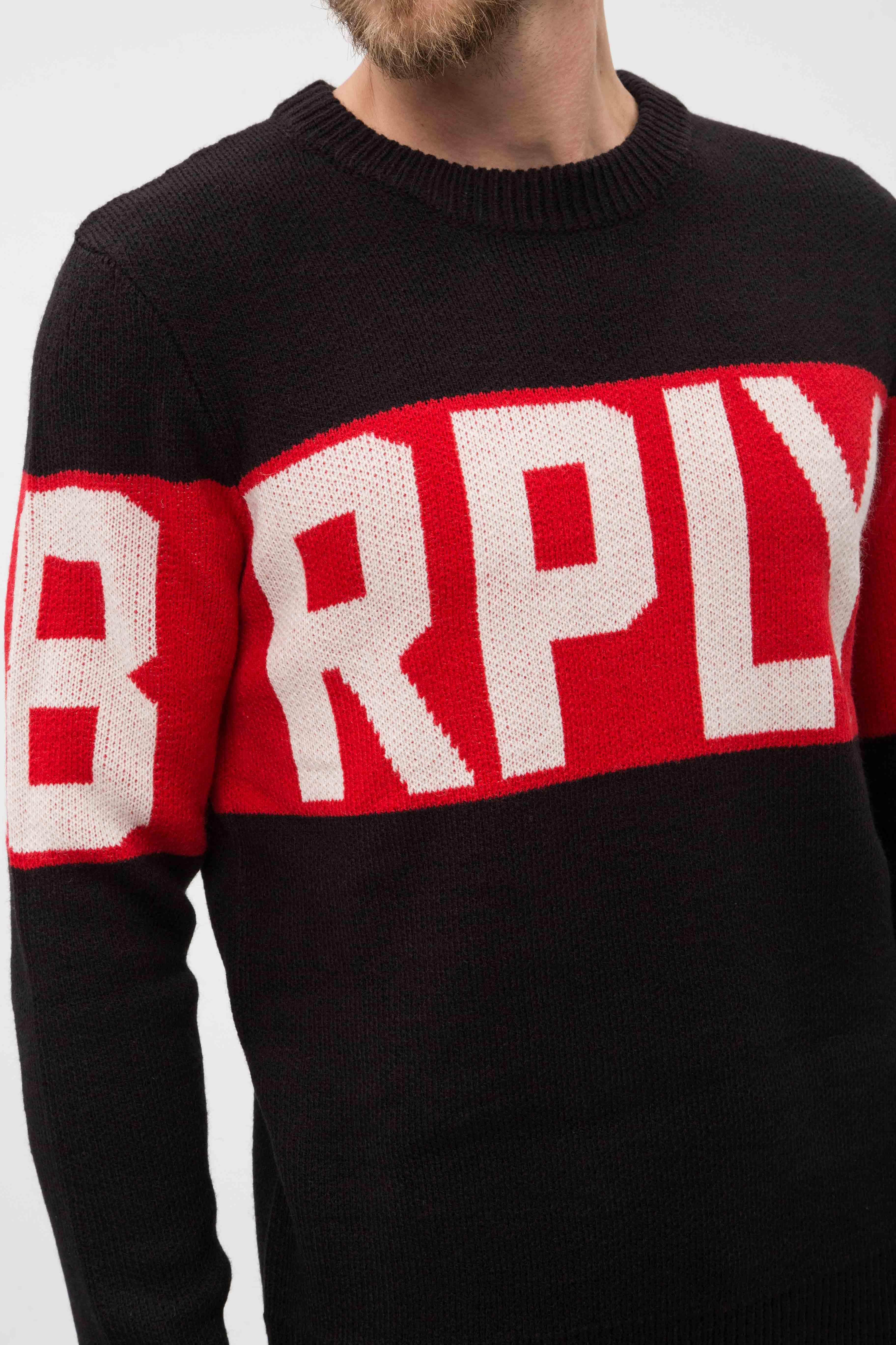 Купить Мужской черный джемпер Replay Replay UK4060.000.G2897J – Киев, Украина. Цены в интернет магазине MD Fashion