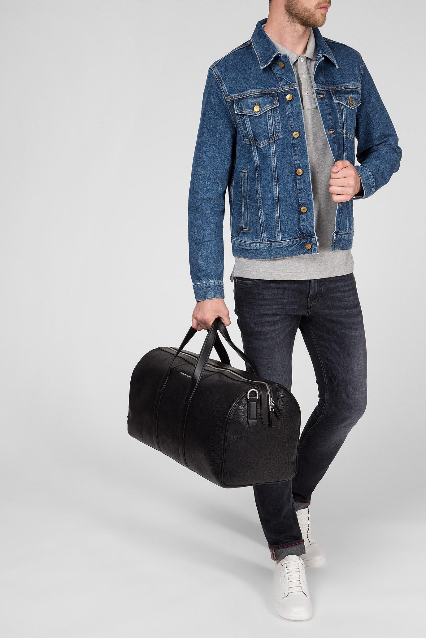 Мужская черная дорожная сумка TH DOWNTOWN WEEKENDER Tommy Hilfiger