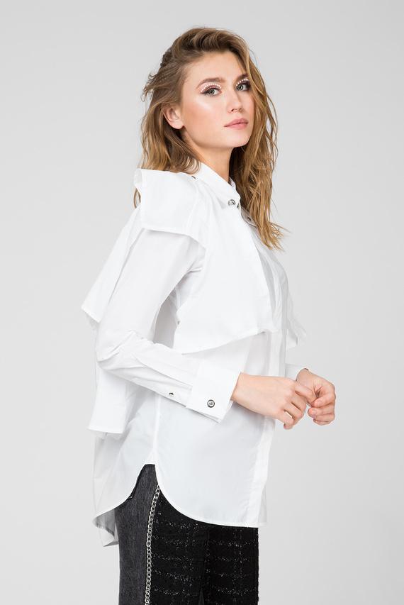 Женская белая рубашка C-RAILY-SHAPED