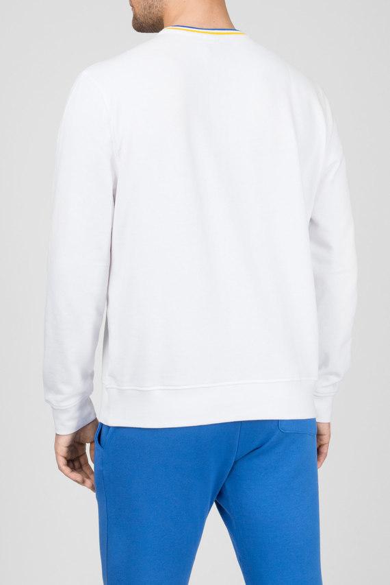 Мужской белый свитшот AZURA