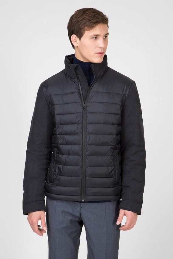Мужская черная куртка MIXED MEDIA