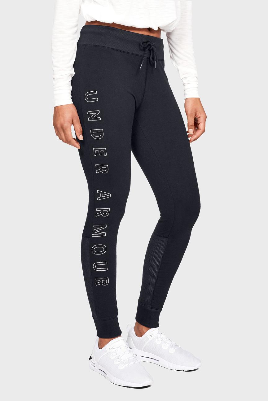 Женские черные спортивные брюки FAVORITE JOGGER