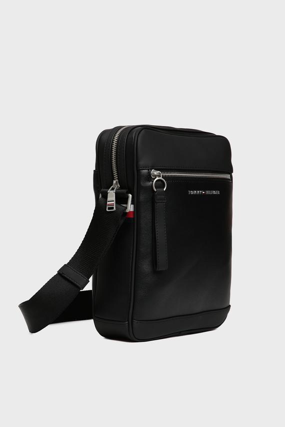 Мужская черная сумка через плечо TH METRO REPORTER
