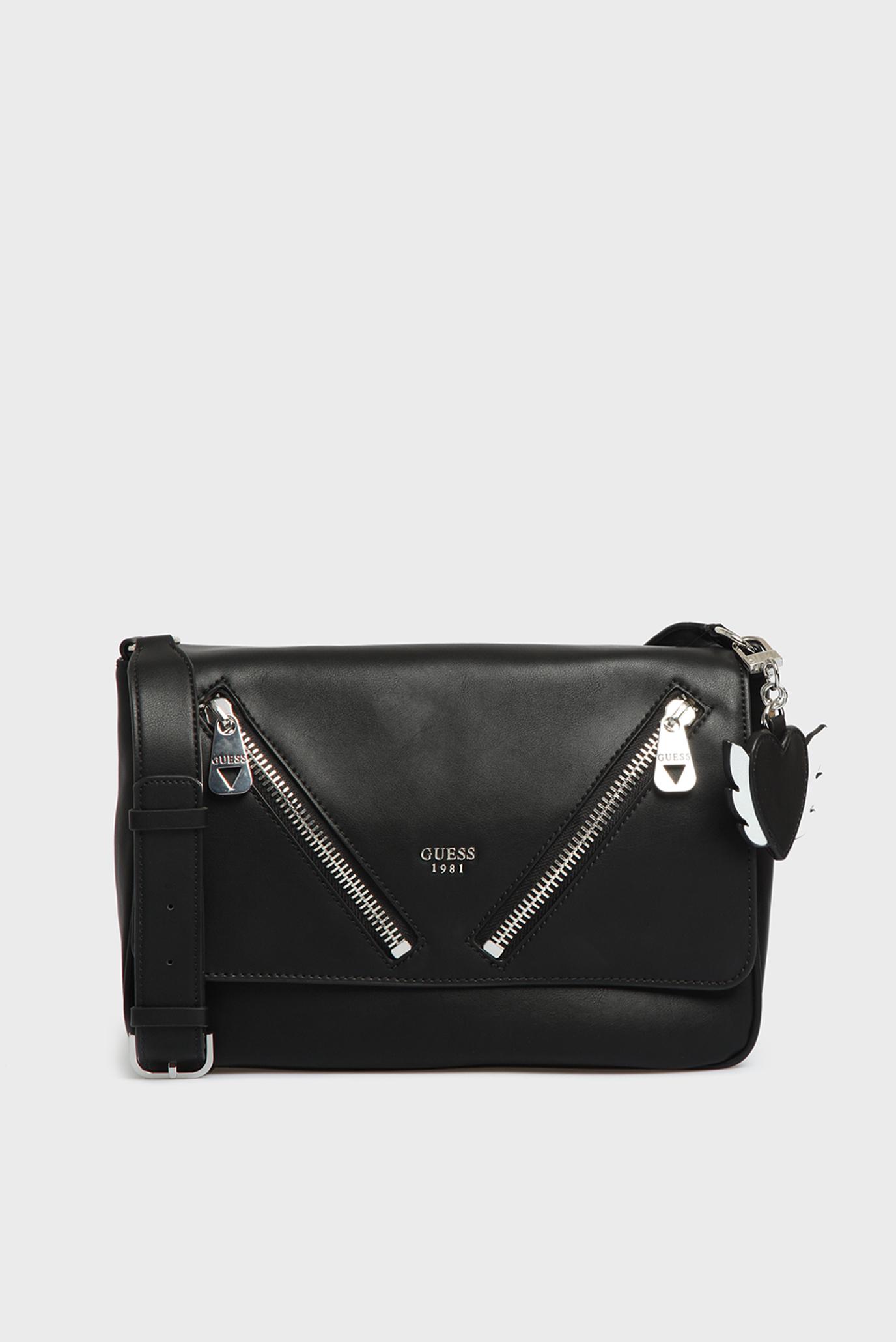 c2a11342cca6 Купить Женская черная сумка через плечо Guess Guess HWVY6689210 – Киев,  Украина. Цены в интернет магазине MD Fashion