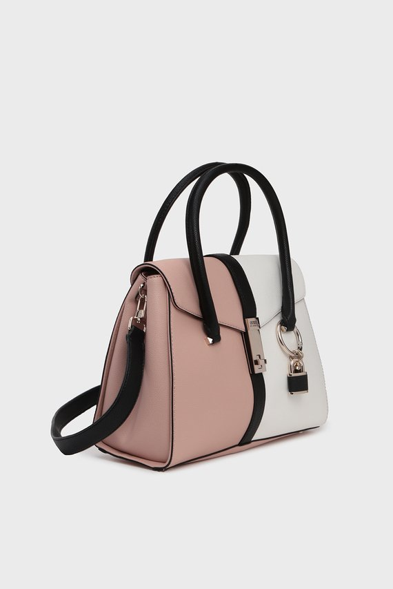 Женская пудровая сумка на плечо ASHER