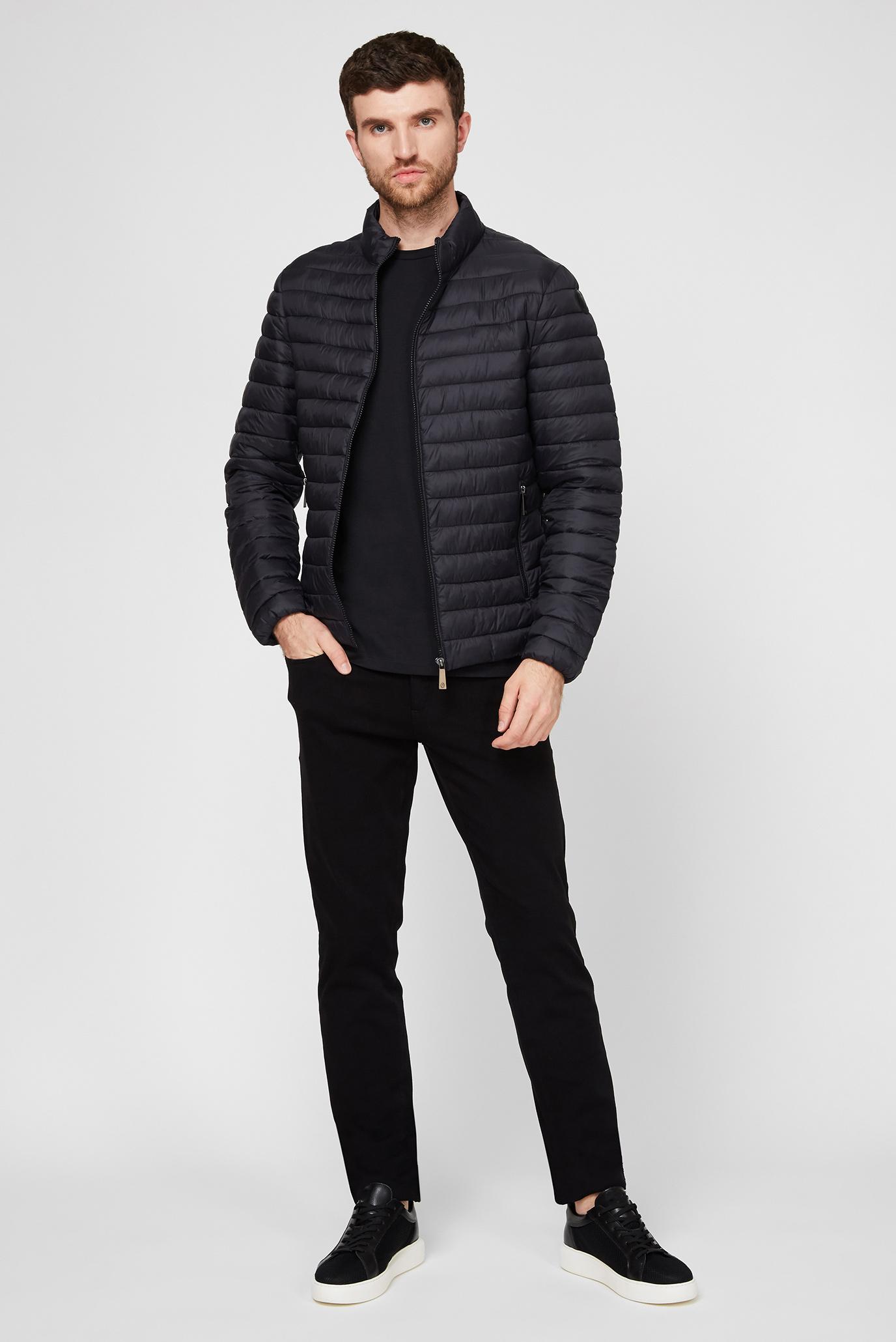 Мужские черные джинсы 370 CLOSE Trussardi Jeans