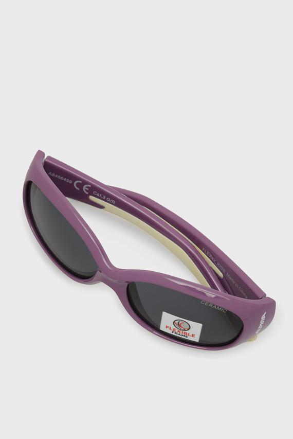 Детские фиолетовые солнцезащитные очки FLEXXY KIDS