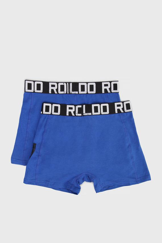 Детские синие боксеры (2 шт)