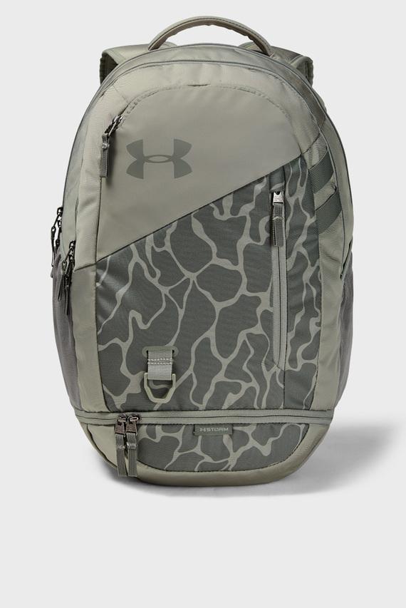 Зеленый спортивный рюкзак UA Hustle 4.0