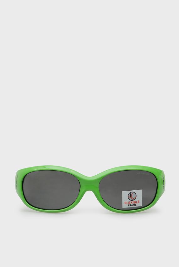Детские зеленые солнцезащитные очки Flexxy Kids