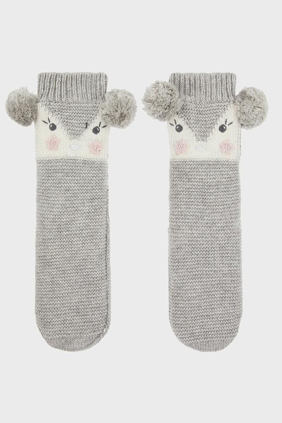 Детские серые носки RECYCLED PENELOPE PE