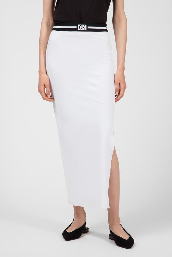 Женская белая юбка