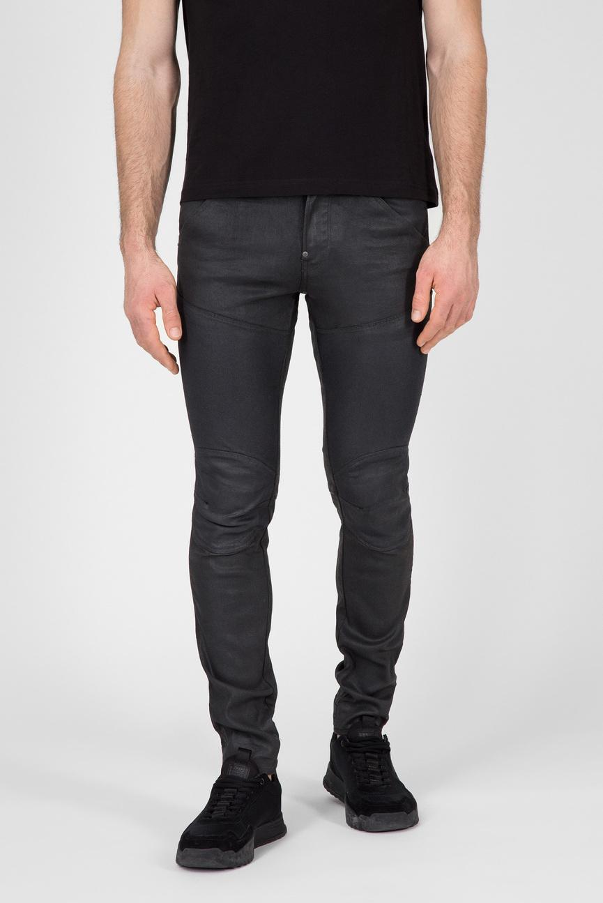 Мужские черные брюки 5620 3D Skinny