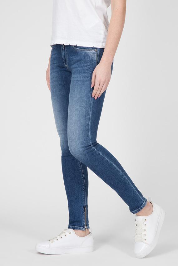 Женские голубые джинсы LUZ ANKLE ZIP