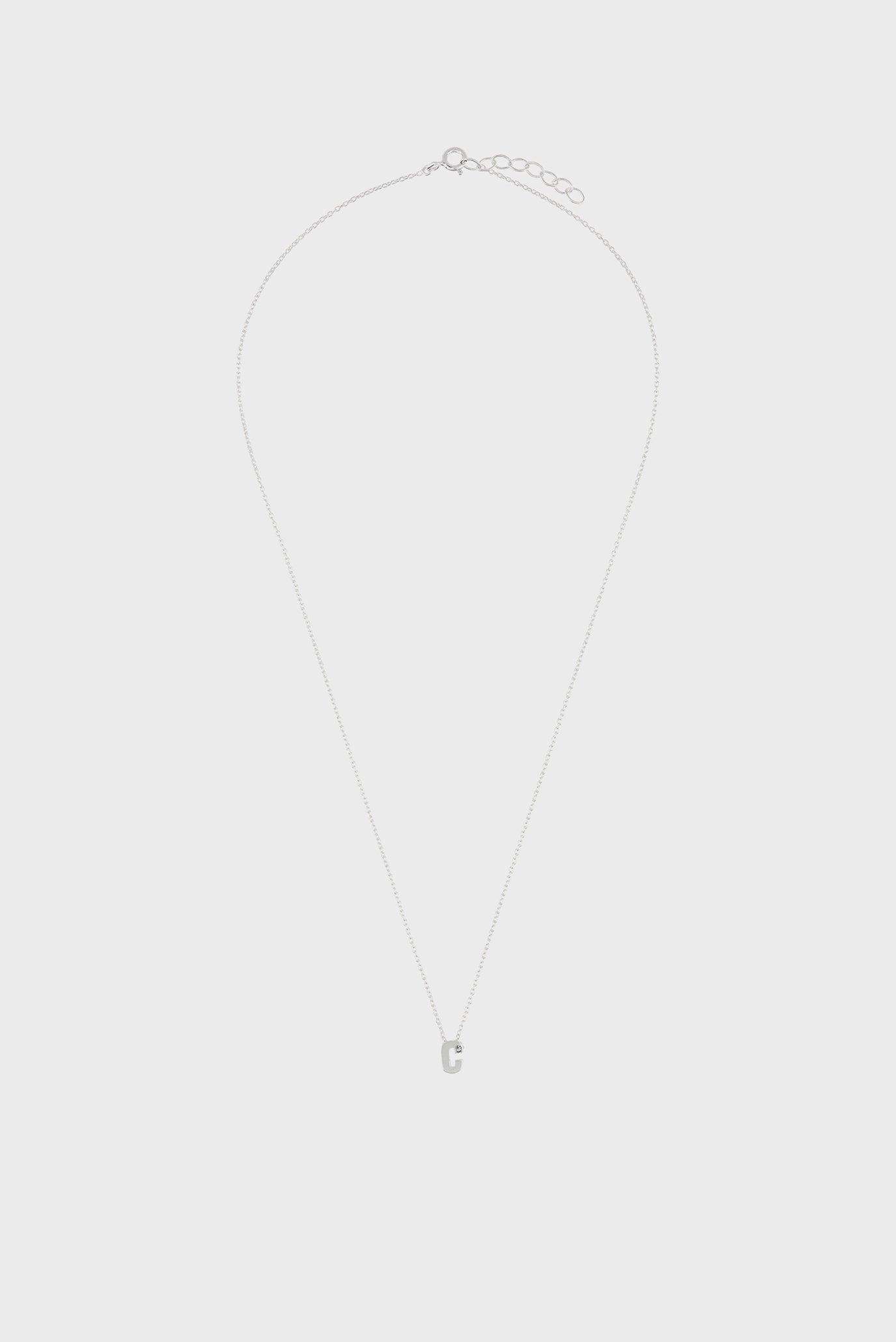 Жіноча срібна підвіска ST SPARKLE INITIAL 1
