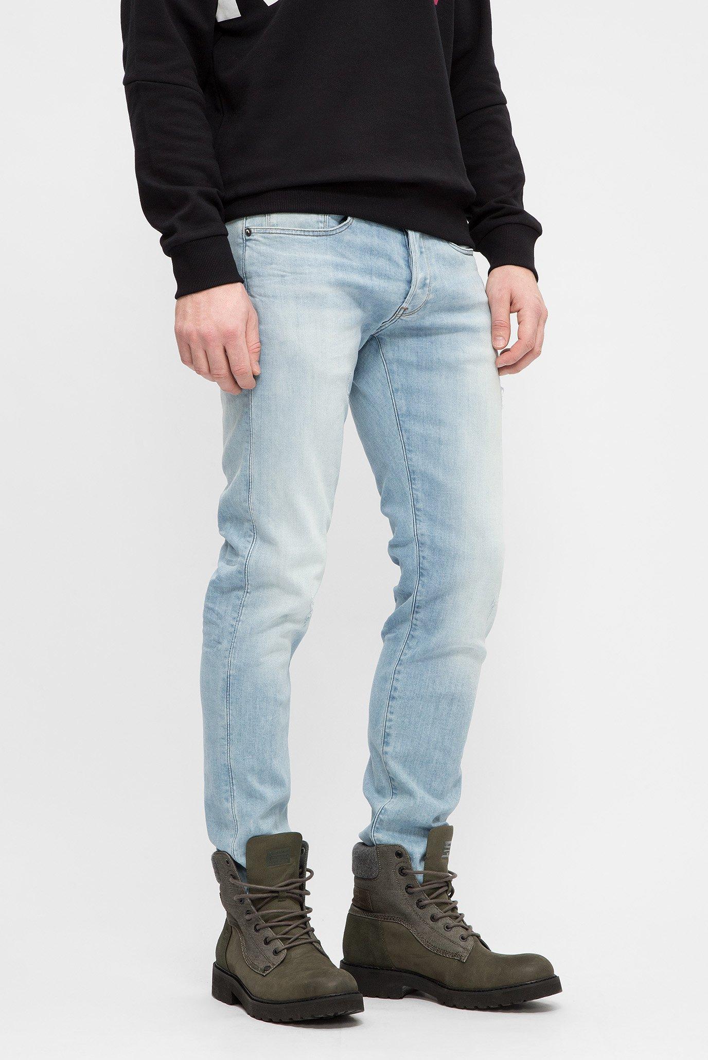 Купить Мужские голубые джинсы 3301 Slim 9260 G-Star RAW G-Star RAW 51001,8968 – Киев, Украина. Цены в интернет магазине MD Fashion