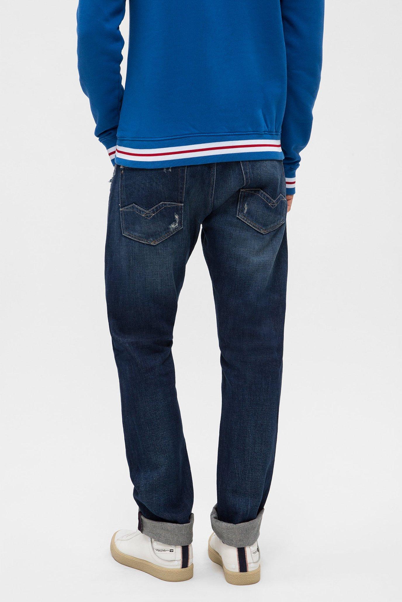 Купить Мужские синие джинсы ROB Replay Replay MA950 .000.136 340 – Киев, Украина. Цены в интернет магазине MD Fashion