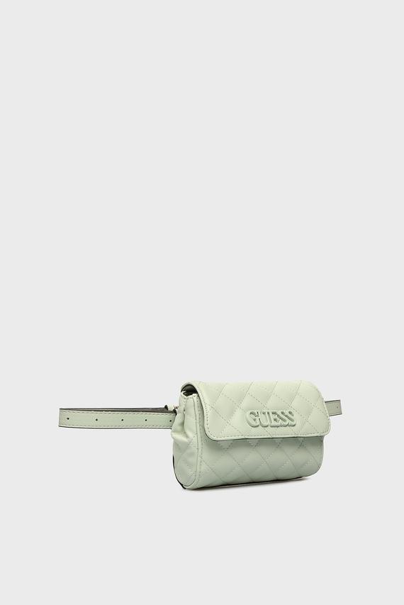 Женская ментоловая поясная сумка ELLIANA