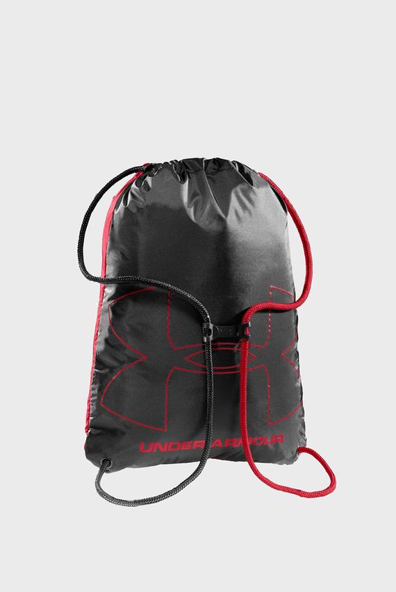 Красный рюкзак с принтом UA Ozsee Sackpack
