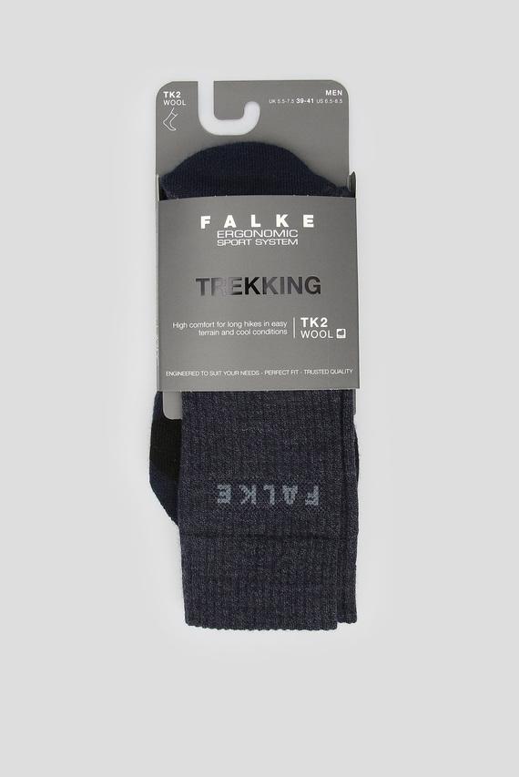Мужские темно-синие лыжные носки TK2 WOOL