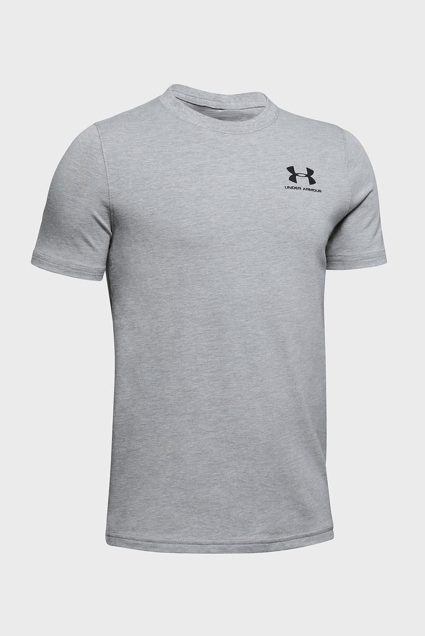 Детская серая футболка UA Cotton SS-GRY