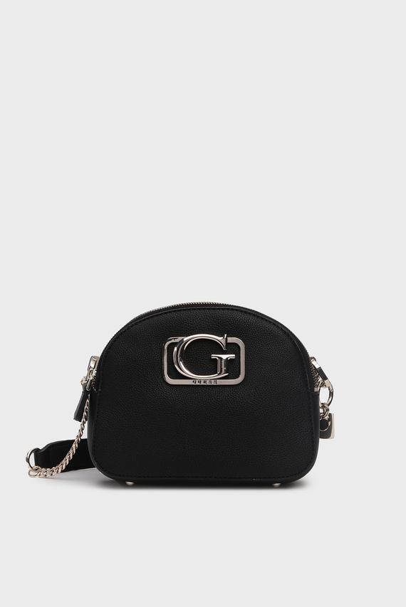 Женская черная сумка через плечо ANNARITA
