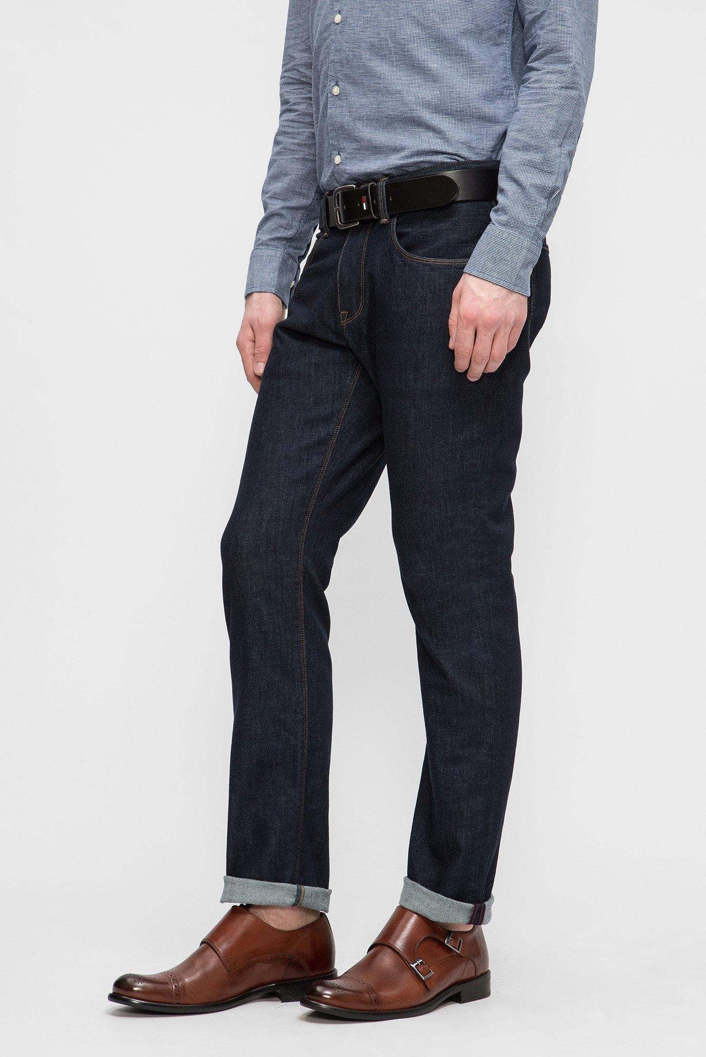 Купить Мужские темно-синие джинсы MERCER Tommy Hilfiger Tommy Hilfiger MW0MW07238 – Киев, Украина. Цены в интернет магазине MD Fashion