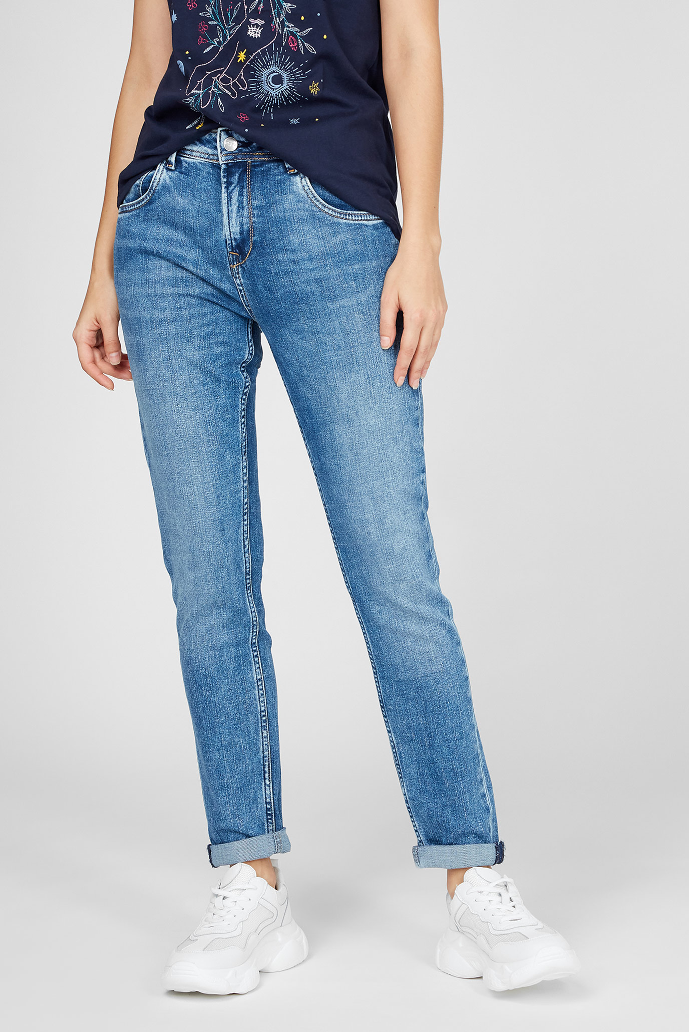 Женские синие джинсы VIOLET Pepe Jeans
