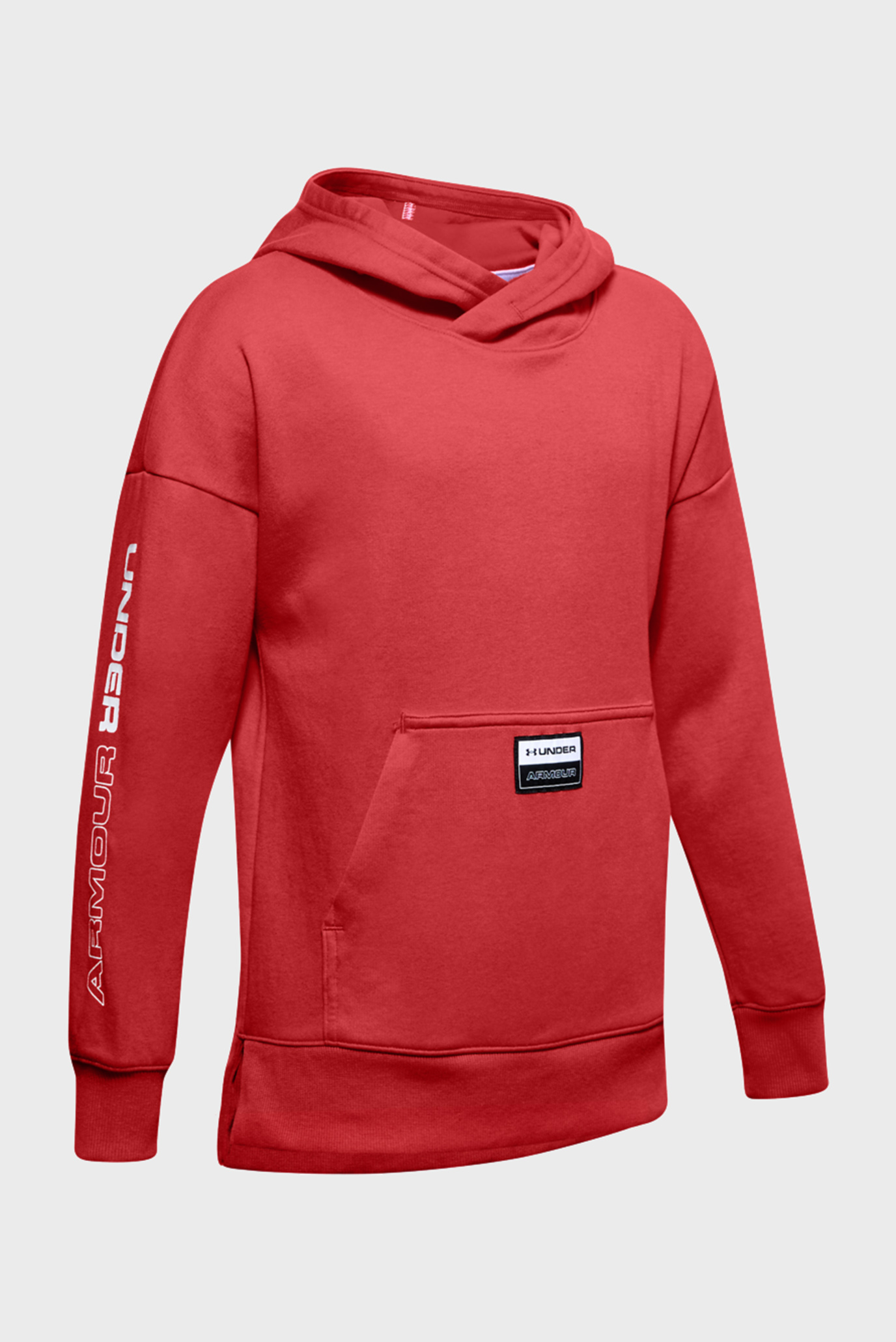 Детское красное худи Unstoppable Double Knit Hoody Under Armour