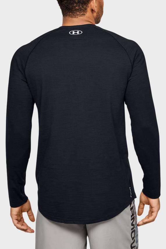 Мужской черный лонгслив Charged Cotton LS