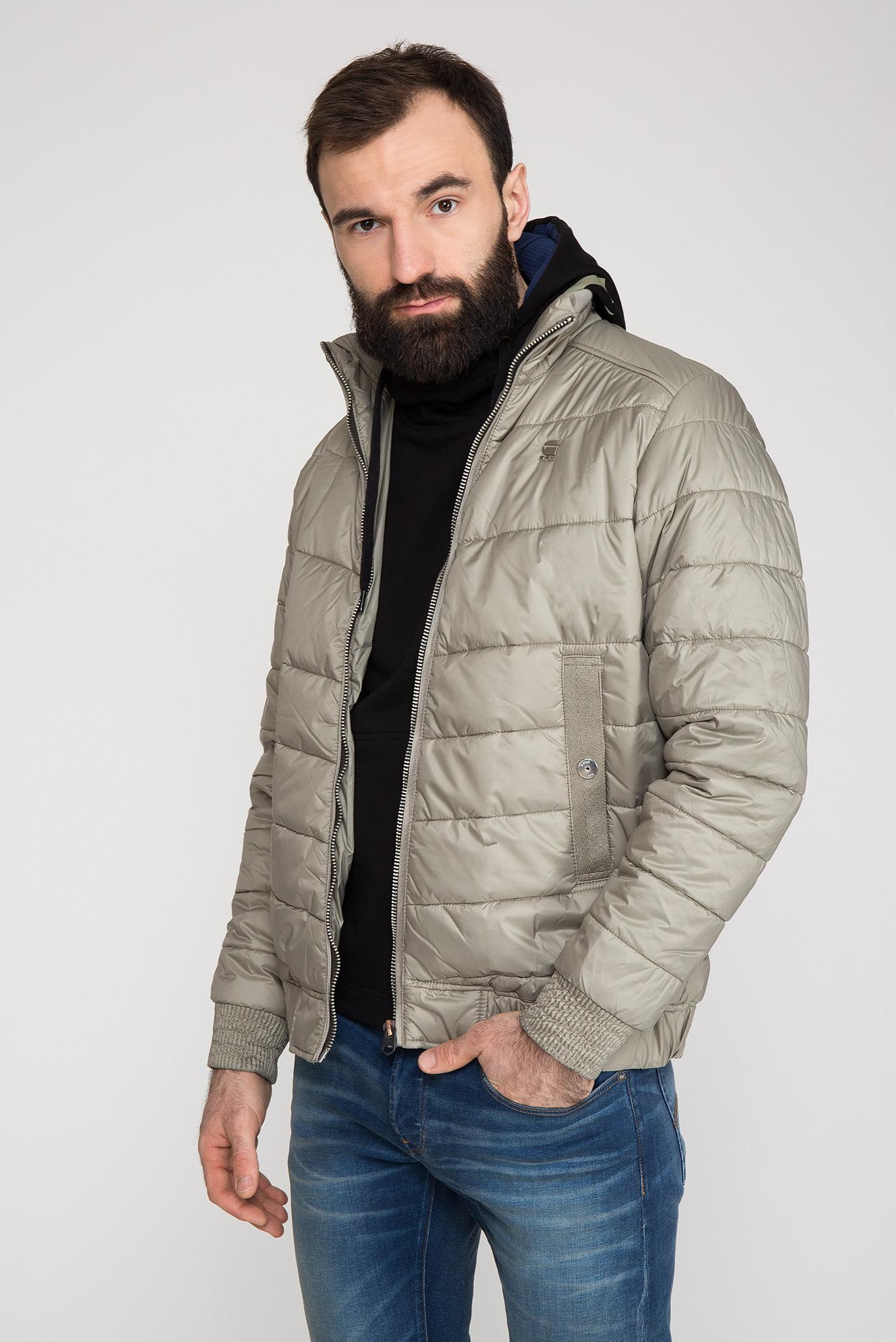 Мужская серая куртка Meefic G-Star RAW