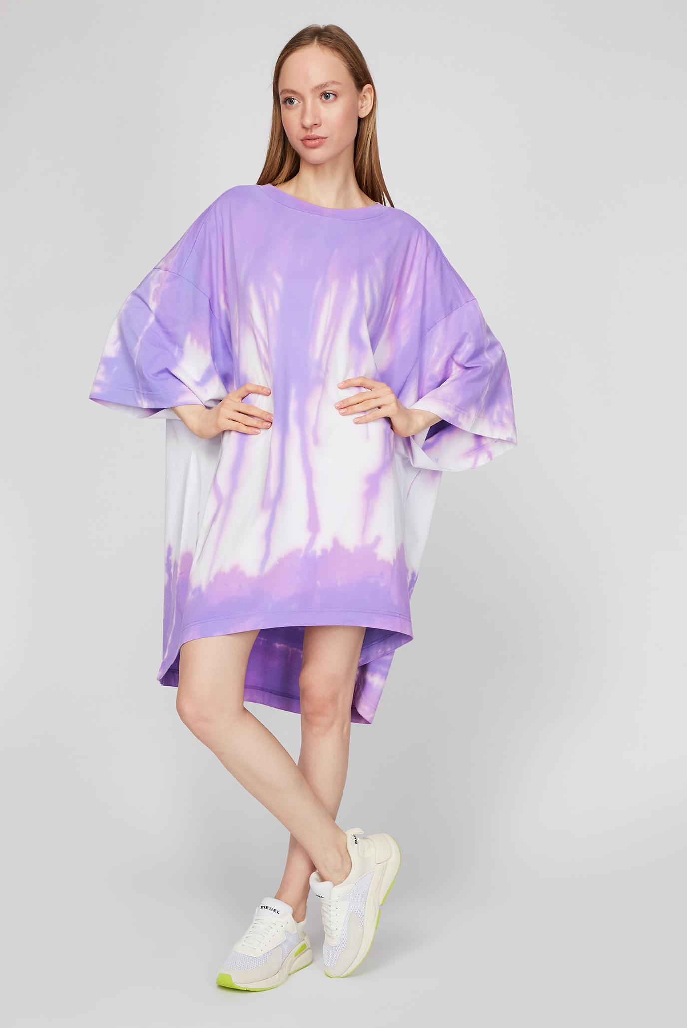 Женское сиреневое платье D-EXTRA-A1 DRESS 1
