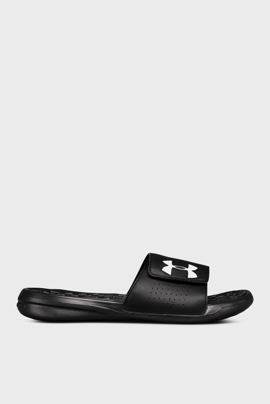 Мужские черные сандалии UA Hlaymaker