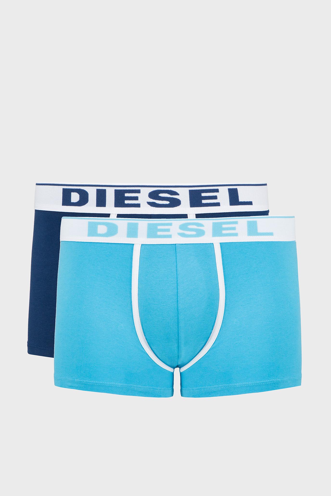 Купить Мужские хлопковые боксеры (2 шт) Diesel Diesel 00SMKX 0JKKC – Киев, Украина. Цены в интернет магазине MD Fashion