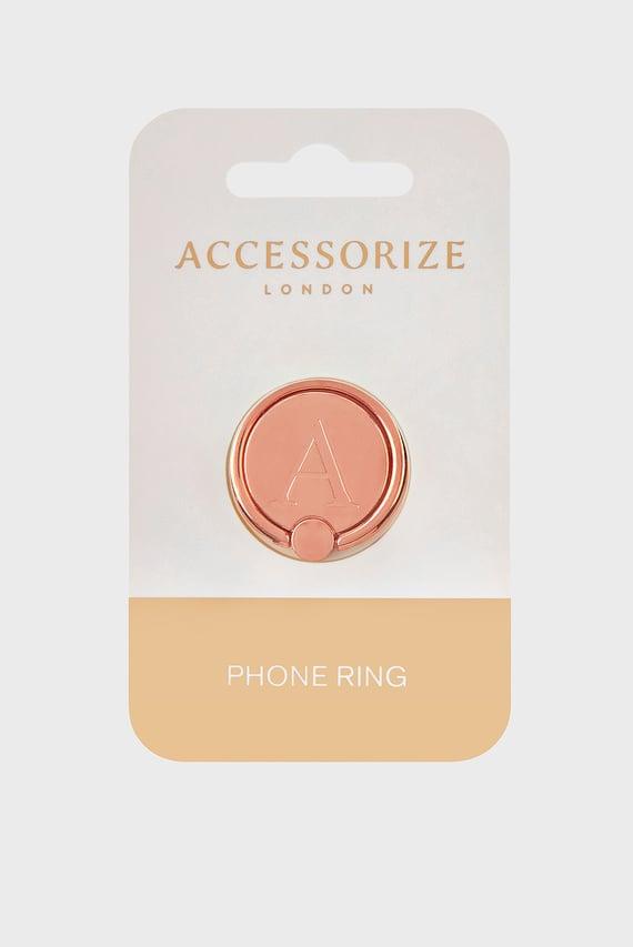 Золотистый аксессуар для телефона Initial Phone Ring A