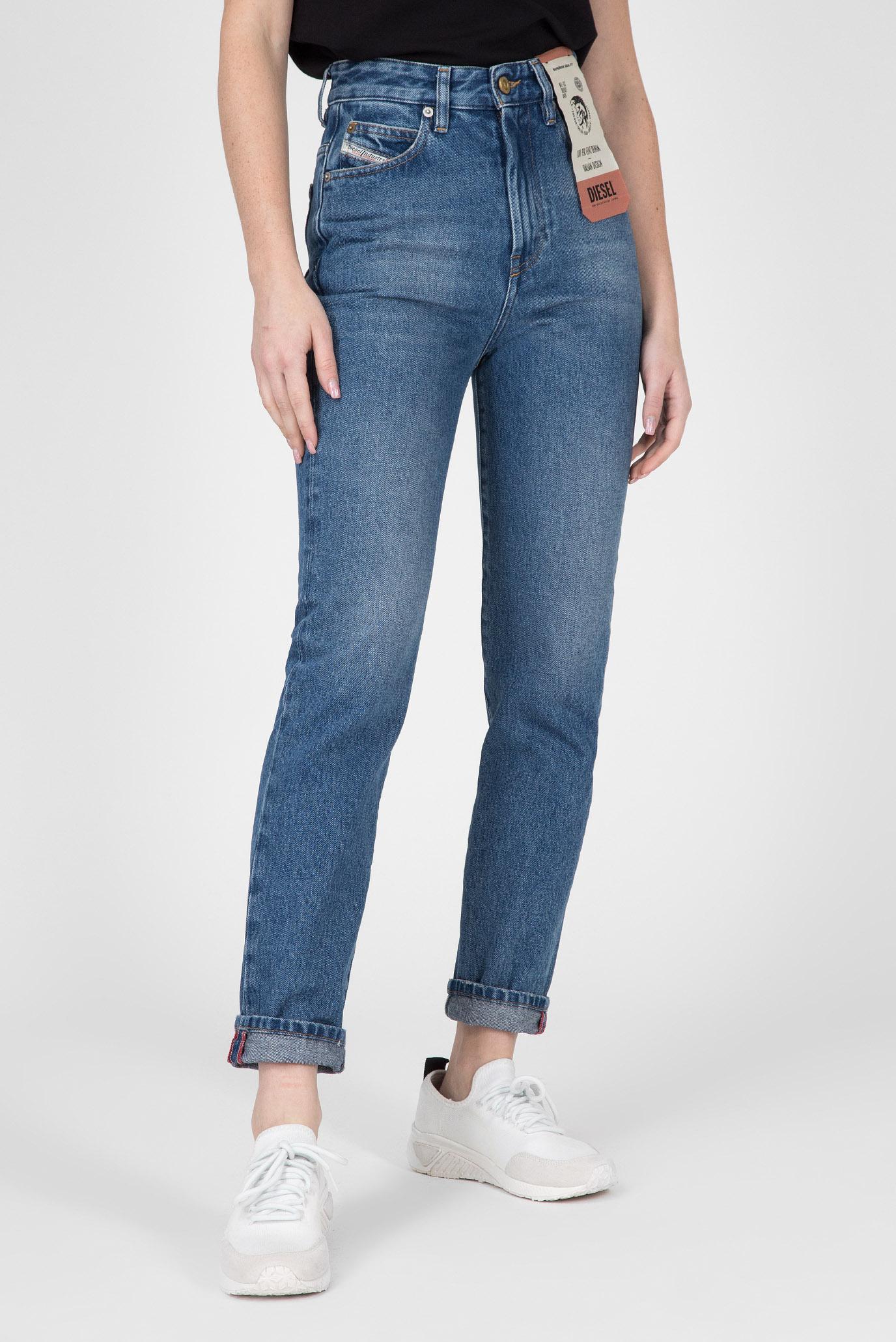 Купить Женские синие джинсы D-EISELLE Diesel Diesel 00SMNI 0076X – Киев, Украина. Цены в интернет магазине MD Fashion