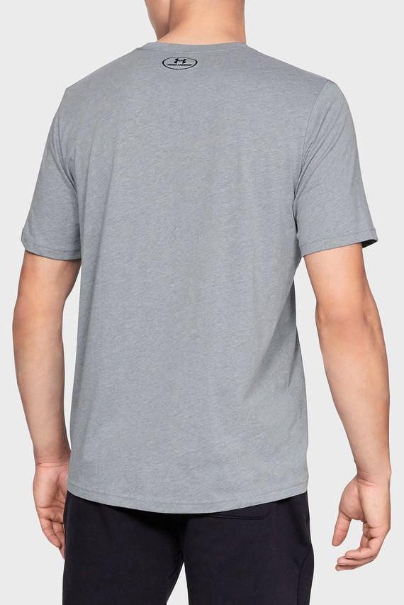 Мужская серая футболка SPORTSTYLE LEFT CHEST SS