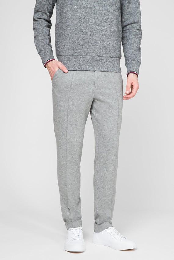 Мужские серые брюки SLIM  FLEX PNT WITH PINTUCK