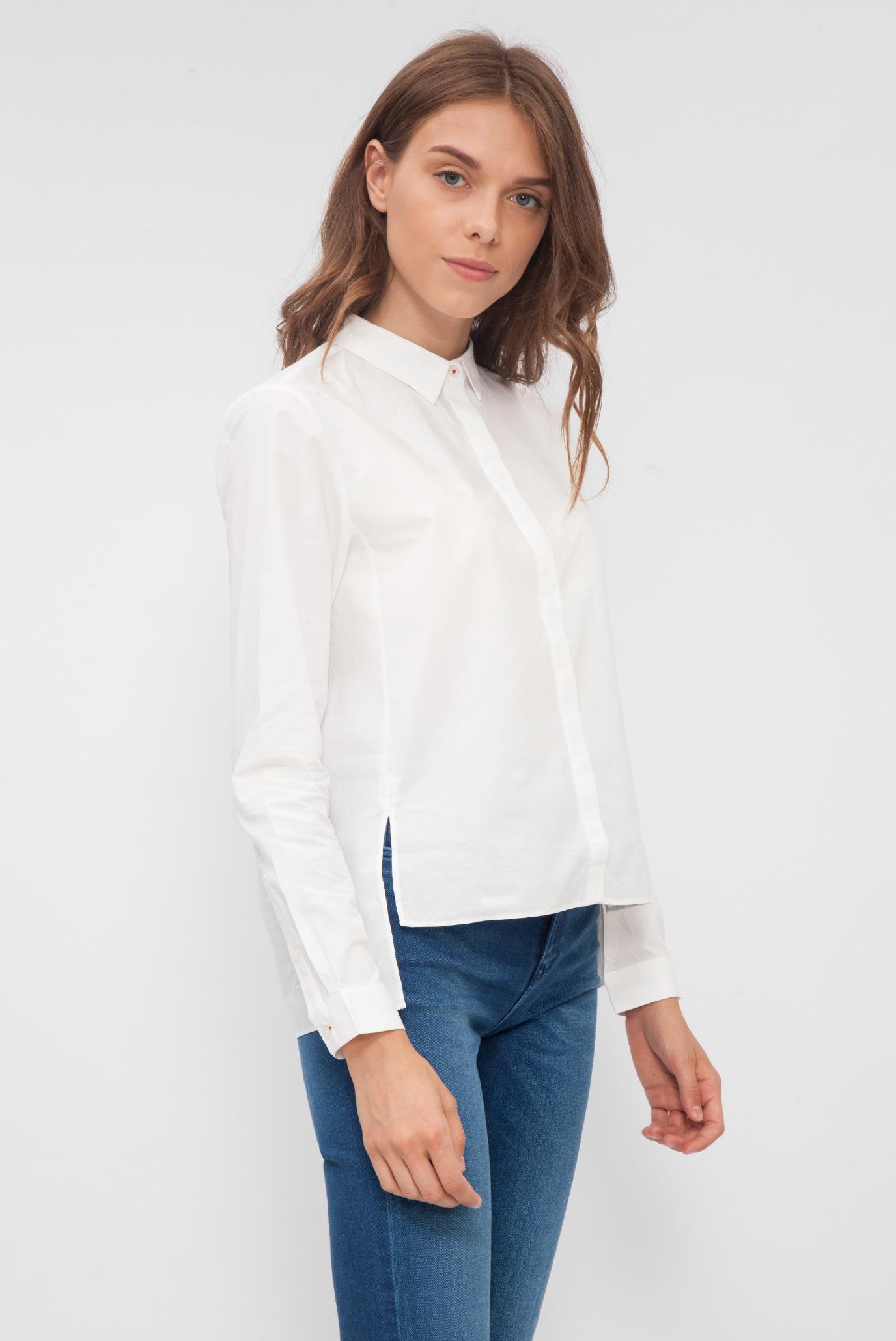 a3ddbe164c7 Купить Женская белая рубашка Tommy Hilfiger Tommy Hilfiger DW0DW02567 –  Киев