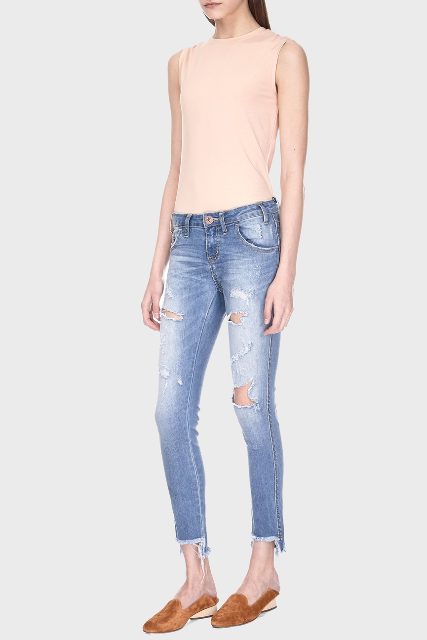 Женские голубые джинсы FREEBIRDS II
