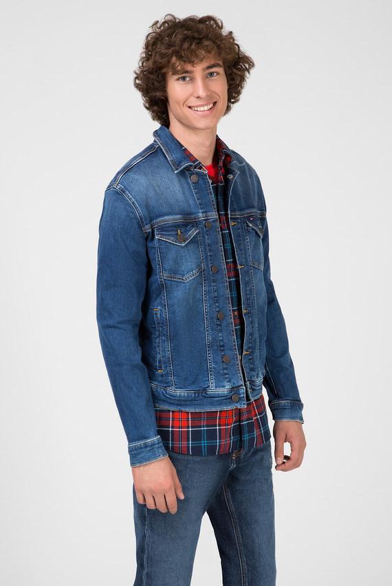Мужская синяя джинсовая куртка REGULAR TRUCKER