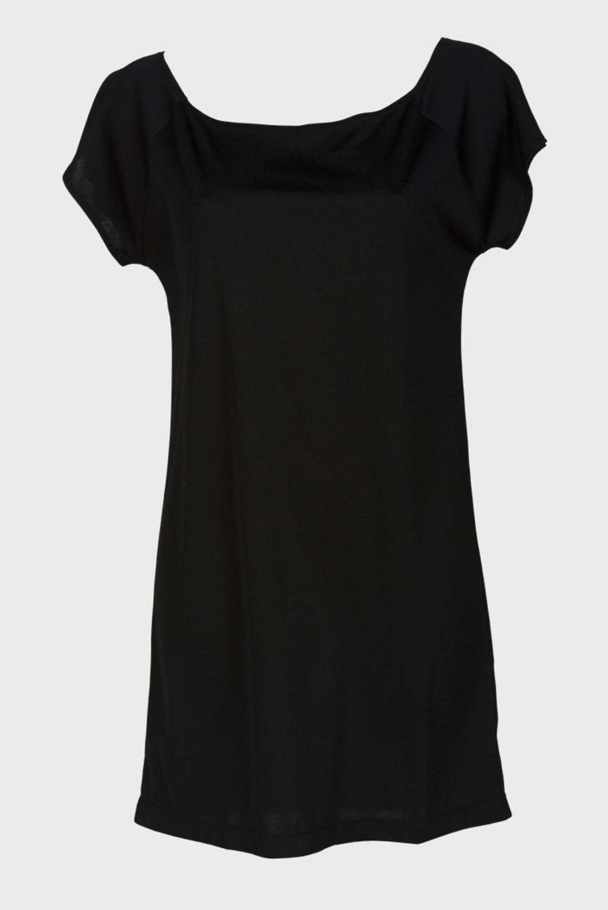 Женское черное платье W BEACH DRESS