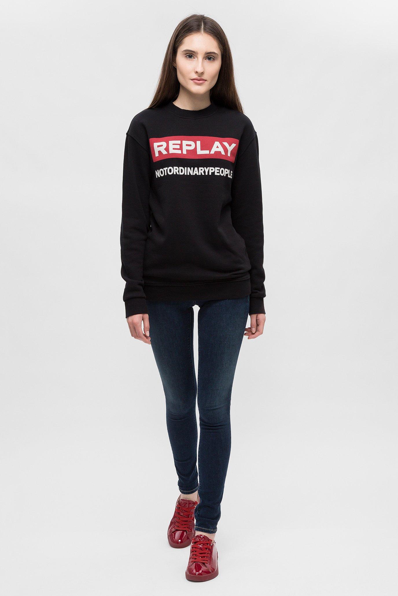 Купить Женские темно-синие джинсы LUZ Replay Replay WX689R.000.71B 325 – Киев, Украина. Цены в интернет магазине MD Fashion
