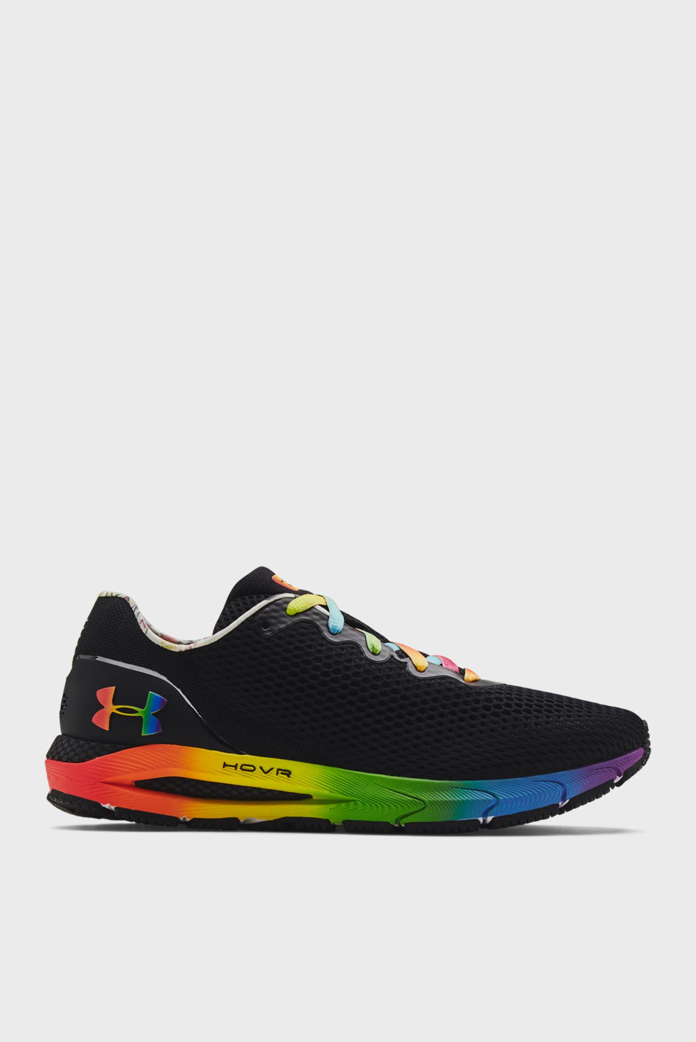 Мужские черные кроссовки  UA HOVR Sonic 4 Pride 1