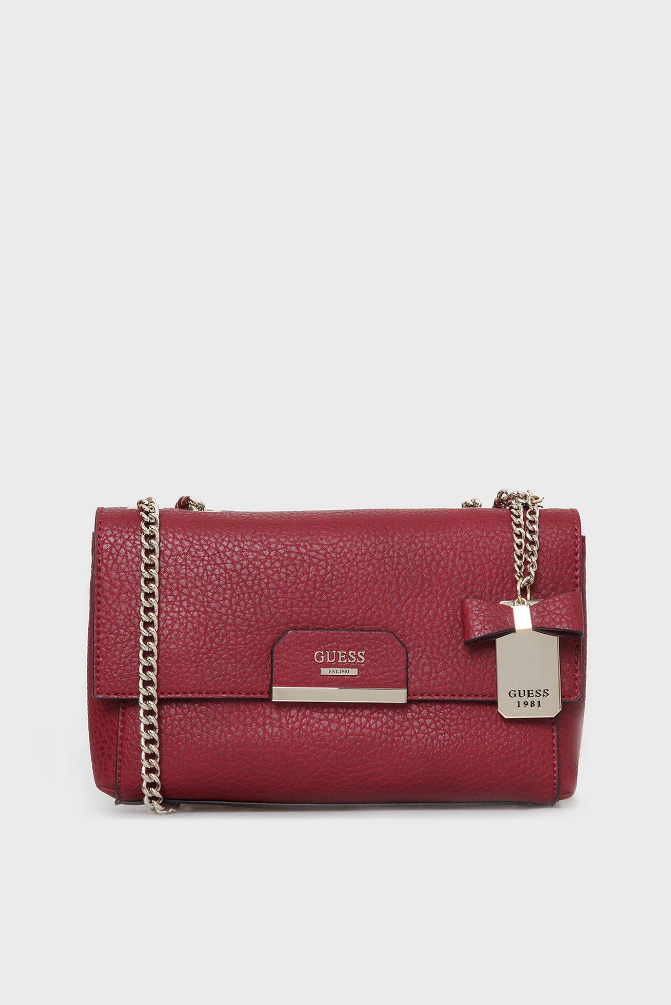 65757d53bc47 Купить Женская бордовая сумка через плечо Guess Guess HWPB6683210 – Киев,  Украина. Цены в интернет магазине MD Fashion