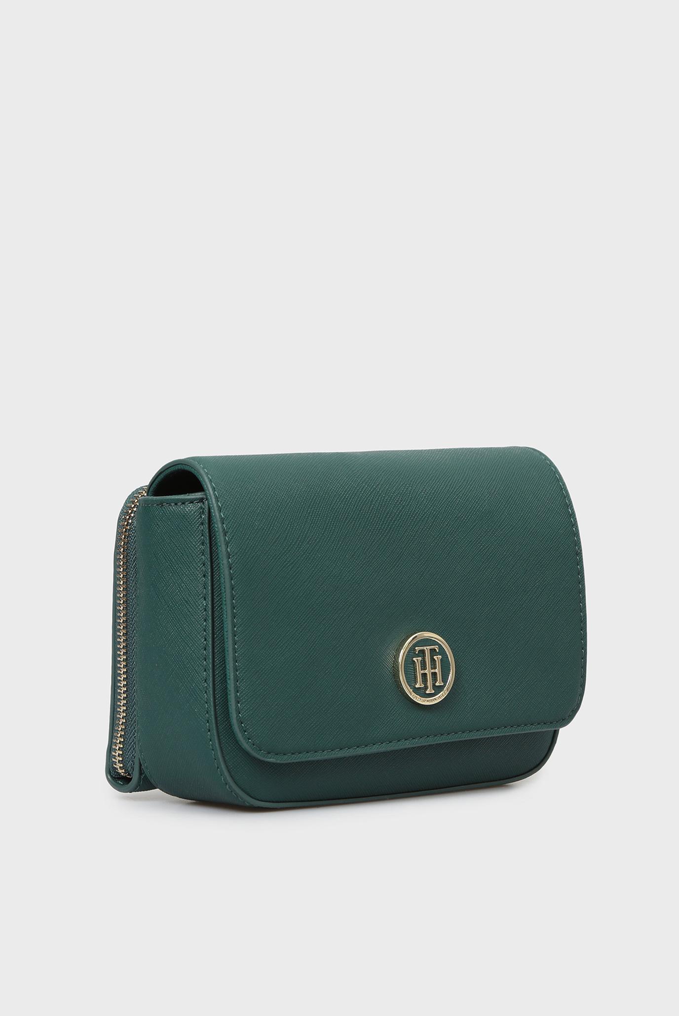 Купить Женская зеленая сумка через плечо HONEY MINI CROSSOVER Tommy Hilfiger Tommy Hilfiger AW0AW05654 – Киев, Украина. Цены в интернет магазине MD Fashion